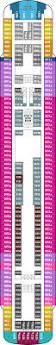 Norwegian Pearl Deck Plan 5 by Norwegian Sky Deck Plans Cruise Ship Photos Schedule