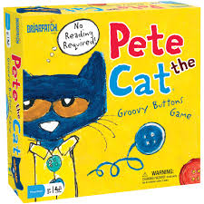 Pete The Cat Classroom Themes by Pete The Cat Groovy Buttons Game Walmart Com