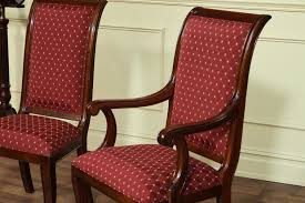 Choosing The Right Dining Room Sets Awesome Chairs With Upholstered Mahogany Armchairs Using