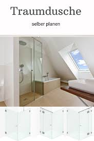 pin auf duschen aus glas