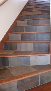 tile and wood for your stairs contemporary staircase seattle