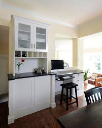 Office Coffee Area Kitchen Traditional With Frosted Glass Walnut Counter Height Stools