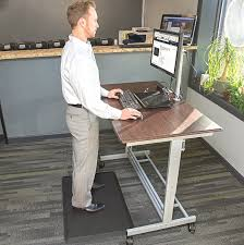 Standing Desk Floor Mat Amazon by Amazon Com Comfortelite Anti Fatigue Mat Made In Usa 24 X 36