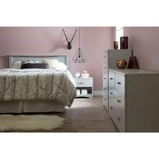 South Shore Step One Dresser White by South Shore Step One Full Queen Size Headboard In Pure Black