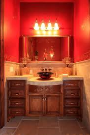 Beautiful Colors For Bathroom Walls by Best 25 Orange Mediterranean Bathrooms Ideas On Pinterest