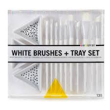 Viva Decor Inka Gold Uk by Kit With 10 Brushes And 3 Ceramic Cups I Spy Diy Perles U0026 Co