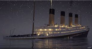 re live the sinking of the titanic in real time video daily mail