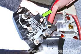 bmw e46 rear light replacement bmw 325i 2001 2005 bmw