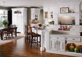 Fabulous White Kitchen Cabinets Ideas With And Wooden Floor