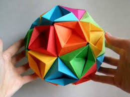 Making This Origami Ball Paper Folding Videos