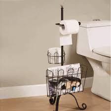 Standing Toilet Tissue Holders