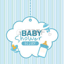 Baby Shower Logo by Baby Shower Graphic Design Vector Illustration Royalty Free