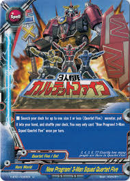 buddyfight trial deck 5 quartet five future card buddyfight wiki fandom powered by wikia