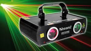 Firefly Laser Lamp Uk by Beamz Red Green 3d Effect Laser Dmx Light Dj Disco Party Club