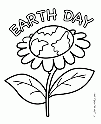 Earth Day Printable Coloring Pages 4