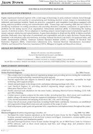 Mechanical Engineer Resume Samples Examples Engineering Manager Example