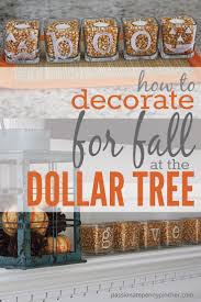 Rite Aid Christmas Trees by Dollar Tree Centerpieces For Fall Passionate Penny Pincher