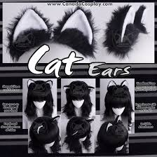 how to make cat ears cat ears in black and white by kaypikefashion on deviantart