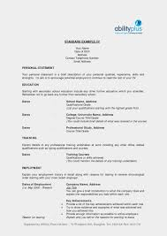 Standard Resume Template 14 Format For Diploma Freshers