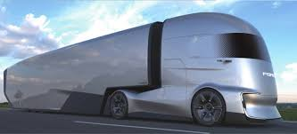 100 Aerodynamic Semi Truck Ford FVision Future Concept Is An Electric