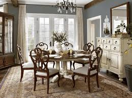 Standard Size Rug For Dining Room Table by Dinette Sets Rustic Wood Dining Table Grey And White Area Rug