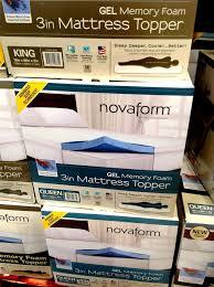 Sleep Innovations Novaform Memory Foam Topper At Costco IMPress