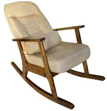 US $271.7 5% OFF|Wooden Rocking Chair For Elderly People Japanese Style  Chair Rocking Recliner Easy Chair Adult Armrest Rocking Chair Cushions-in  ...