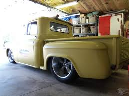 56 Chevy Pickup Rat Rod Custom Pro Touring Coys 18