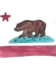Another California Bear Flag Drawing From Deviantart