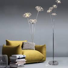 großhandel clear stehle g4 led dandelion fußboden licht für schlafzimmer wohnzimmer leuchte stehleuchte greatlight520 130 61 auf