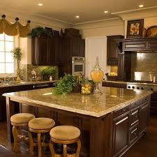Incredible Design Kitchen Decorations 14 Tuscan Decor Love Counter Tops Against Dark Wood