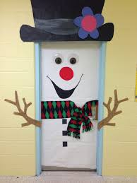 Winter Themed Classroom Door Decorations by Classroom Door Decoration Christmas Classroom Door Decoration