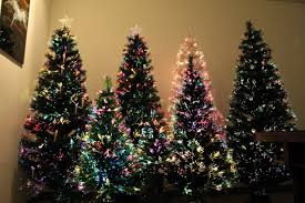 Decorated Fiber Optic Christmas Tree Christmas2017 With