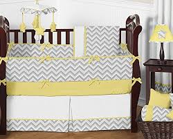 Sweet Jojo Chevron Curtains by Amazon Com Sweet Jojo Designs 2 Piece Yellow And Gray Chevron