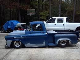 BAD ASS 1958 APACHE BAGGED DRAG TRUCK TRIBUTE - Classic Chevrolet ...
