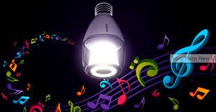 sony put a bluetooth speaker in an led light bulb torchstar