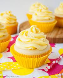 Tropical Mango Vanilla Cupcakes Little Sweet Baker