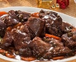 cuisiner le sanglier au four bourguignon de sanglier facile recette de bourguignon de