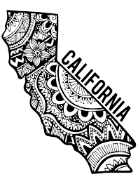 1275x1650 California Zentangle Pinterest Tattoo Piercings