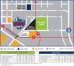 Petco Park Security And Parking Changes For The 2015 Season