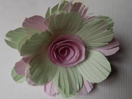 How To Make Paper Flowers At Home Step By Easy With Colour Regarding