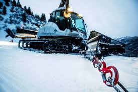snow cat some uphillers rack the nerves of aspen mountain snowcat drivers