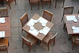 Restaurant Patio Seating Plan