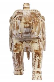 afrika wohnzimmer deko figuren elefant 31cm