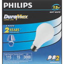 philips duramax a15 incandescent appliance light bulb 168609