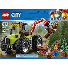 LEGO City Great Vehicles Forest Tractor 60181 - LEGO - Toys