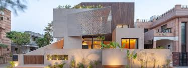 100 Architectural Designs For Residential Houses Abraham John Architects Chhavi House Recalls Traditional Indian