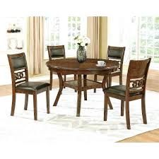 Dining Tables For Sale Round Brown Traditional 5 Piece Set