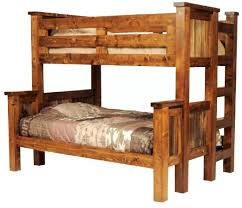 rustic bunk bed plans twin over full latitudebrowser