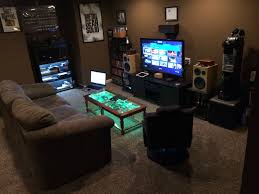 Spectacular Video Game Room Furniture Ideas With Excellent Gaming All Decoration